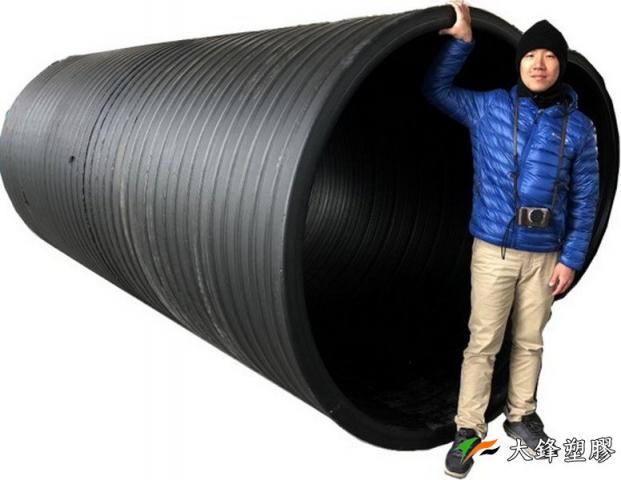全台最大口徑排水管問世